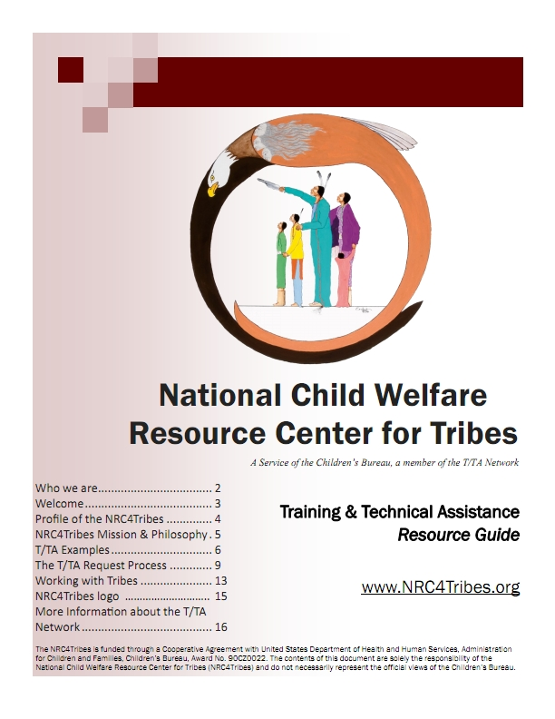National Child Welfare Resource Center for Tribes TTA Resource Guide